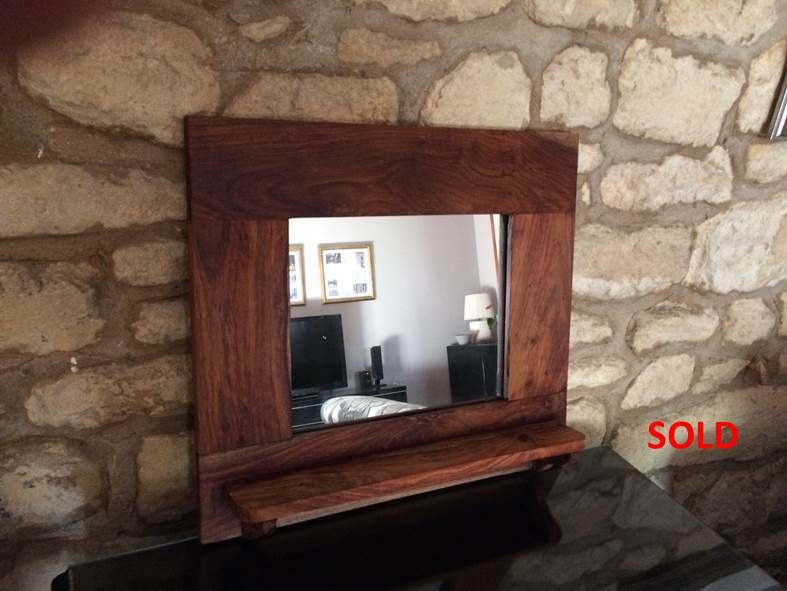 Mirror with Shelf sold
