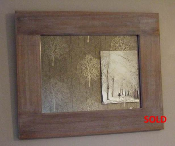 Limed Mirror 1 Sold