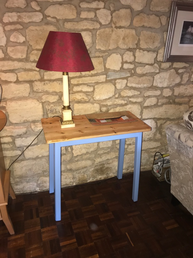Blue Console Table 2