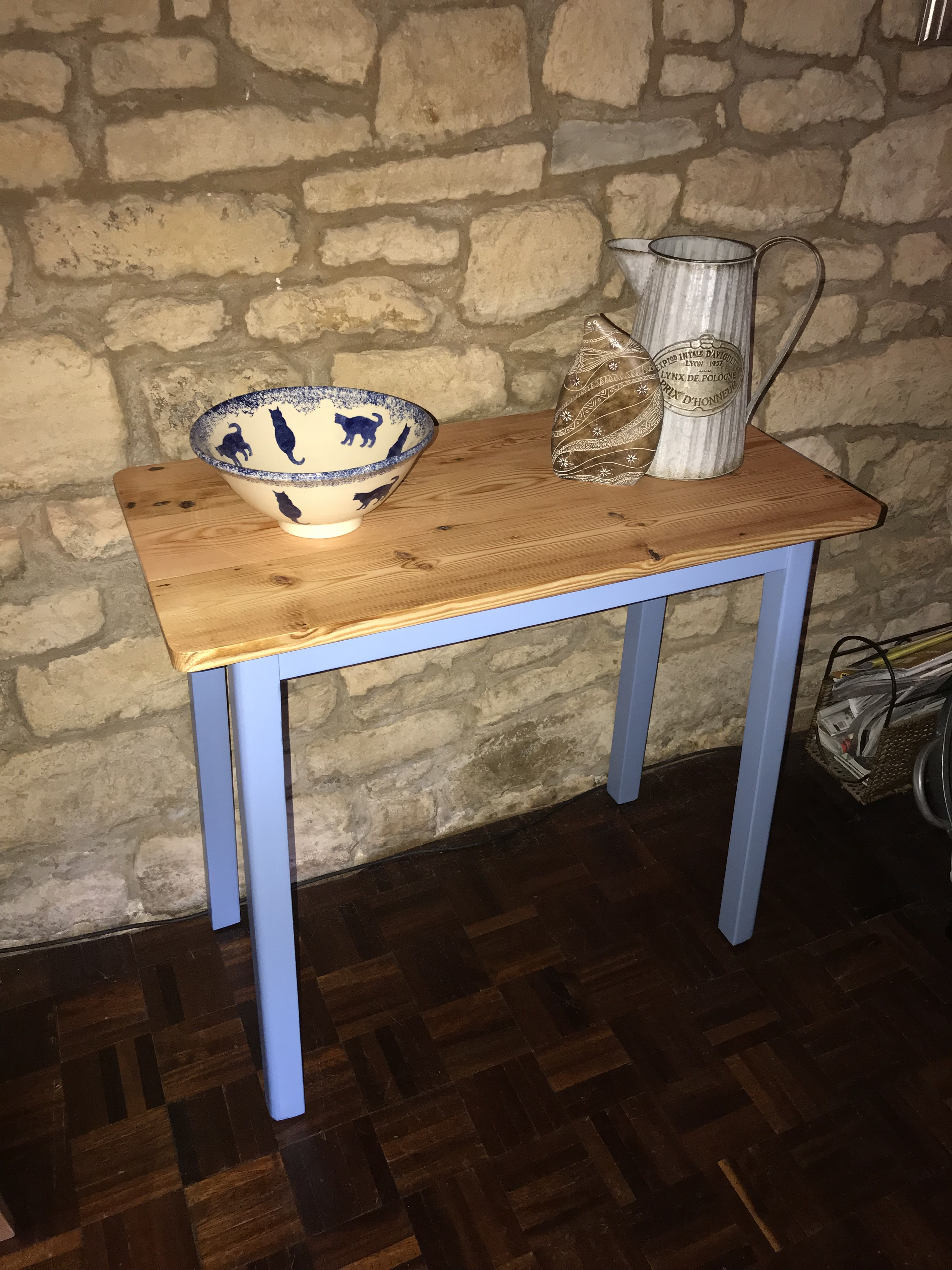 Blue Console Table 3